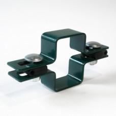 Крепление для 3D забора хомут RAL 6005, 8017, 7016