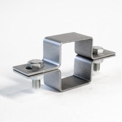 Крепление для 3D забора хомут цинк