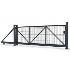 Ворота Откатные 3D сетка ПП 1730х4000х6000