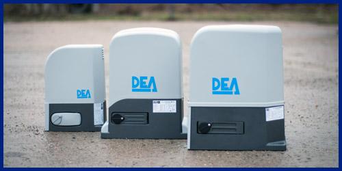 Приводы DEA для откатных ворот